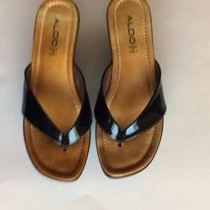 Aldo wedges, made in Italy, size 39